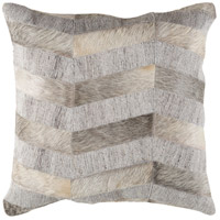 Medora 20 X 20 inch Camel and Cream Pillow Cover