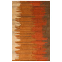 Surya MOS1004-58 Mosaic 96 X 60 inch Burnt Orange/Wheat/Dark Brown Rugs, Wool photo thumbnail