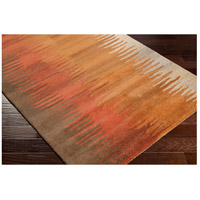 Surya MOS1004-58 Mosaic 96 X 60 inch Burnt Orange/Wheat/Dark Brown Rugs, Wool alternative photo thumbnail