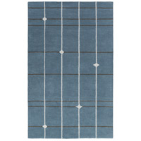 Surya MPP4509-23 MOD POP 36 X 24 inch Blue and Gray Area Rug, Wool photo thumbnail