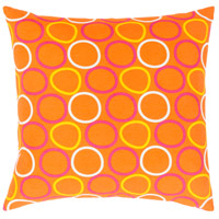 Surya MRA003-1818 Miranda 18 X 18 inch Yellow and Orange Pillow Cover alternative photo thumbnail