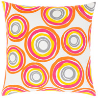 Surya MRA004-1818P Miranda 18 X 18 inch Bright Yellow and Bright Orange Throw Pillow alternative photo thumbnail