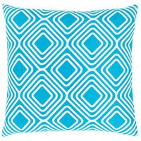 Surya MRA010-1818 Miranda 18 X 18 inch Blue and White Pillow Cover alternative photo thumbnail
