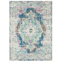 Surya MRC2304-5373 Morocco 87 X 63 inch Navy/Teal/Pale Blue/Charcoal/Fuschia/Light Gray Rugs, Rectangle photo thumbnail