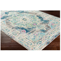 Surya MRC2304-5373 Morocco 87 X 63 inch Navy/Teal/Pale Blue/Charcoal/Fuschia/Light Gray Rugs, Rectangle alternative photo thumbnail
