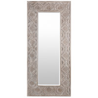 Signature 75 X 35 inch Weathered Pewter Wall Mirror Home Decor