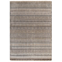 Masha 108 X 72 inch Neutral and Brown Area Rug, Wool and Silk