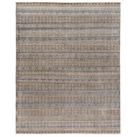 Masha 120 X 96 inch Neutral and Brown Area Rug, Wool and Silk
