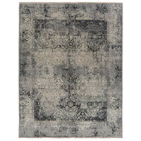 Masha 108 X 72 inch Gray and Neutral Area Rug, Wool and Silk