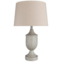 Surya MTS-001 Mathis 26 inch 100 watt Ivory Table Lamp Portable Light