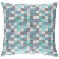 Surya MUL001-2020 Modular 20 X 20 inch Blue and Navy Pillow Cover photo thumbnail