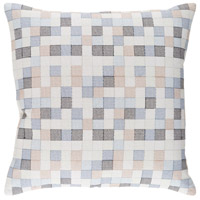 Surya MUL002-2020D Modular 20 X 20 inch Denim and Navy Pillow photo thumbnail