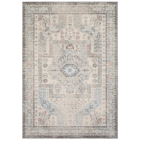 Surya MUT2310-5373 Murat 87 X 63 inch Medium Gray/Charcoal/White/Pale Pink/Pale Blue Rugs, Rectangle photo thumbnail