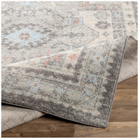 Surya MUT2310-5373 Murat 87 X 63 inch Medium Gray/Charcoal/White/Pale Pink/Pale Blue Rugs, Rectangle alternative photo thumbnail