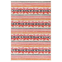 Mayan 72 X 48 inch Ivory Outdoor Area Rug, Rectangle