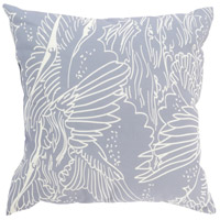 Surya MZ014-2020 Mizu 20 X 20 inch Grey and Off-White Outdoor Throw Pillow photo thumbnail