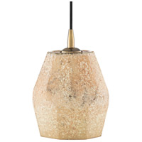 Surya NAY-003 Nayla 1 Light 8 inch Cream/Khaki Pendant Ceiling Light
