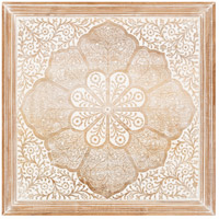 Surya NDI002-2424 Nadia Framed Art Square