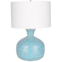 Surya NIN-001 Penina 25 inch 60 watt Sky Blue Table Lamp Portable Light