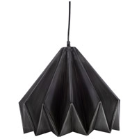 Surya NVR-001 Novara 1 Light 16 inch Black Pendant Ceiling Light