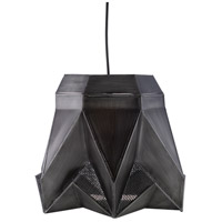 Surya NVR-002 Novara 1 Light 15 inch Black Pendant Ceiling Light