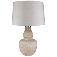 Surya ODO-001 Orlando 29 inch 100 watt Beige Table Lamp Portable Light