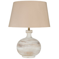 Surya Taupe Wood Table Lamps