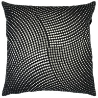 Surya P0223-1818D Midnight 18 X 18 inch Black/Metallic - Silver Pillow Kit alternative photo thumbnail