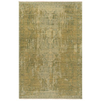 Palace 108 X 72 inch Brown and Yellow Area Rug, Wool