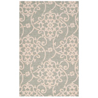 Surya RAI1103-1014 Rain 168 X 120 inch Sea Foam and Emerald Outdoor Area Rug photo thumbnail