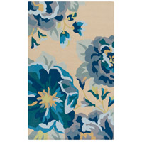 Rain 180 X 144 inch Bright Blue and Sky Blue Outdoor Area Rug