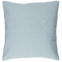 Reda 20 X 20 inch Grey and Grey Pillow Cover
