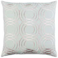 Ridgewood 20 X 20 inch Green and Off-White Pillow Cover