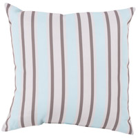 Surya RG111-2020 Rain 20 X 20 inch Blue and Off-White Outdoor Throw Pillow photo thumbnail