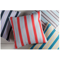 Surya RG111-2020 Rain 20 X 20 inch Blue and Off-White Outdoor Throw Pillow alternative photo thumbnail