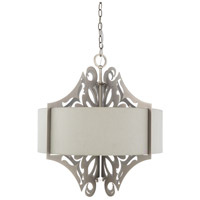 Surya ROX-004 Roxy 3 Light 22 inch Medium Gray Pendant Ceiling Light