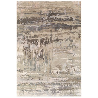 Surya RTE2303-23 Arte 36 X 24 inch Light Gray and Camel Area Rug, Rectangle photo thumbnail