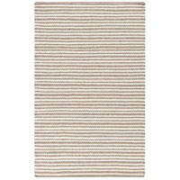 Ravena 63 X 39 inch Neutral and Brown Area Rug, Wool