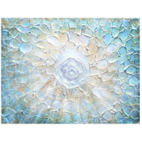 Aquatic 36 inch Art Print, Rectangle