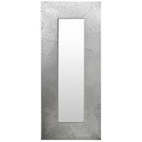 Signature 47 X 21 inch Silver Wall Mirror Home Decor