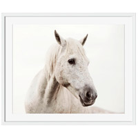 Wild White Horse Wall Art, Rectangle, Eternal
