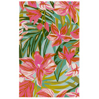 Surya SKE4000-23 Skye 36 X 24 inch Pink and Orange Outdoor Area Rug, Polypropylene