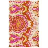 Surya SKE4003-576 Skye 90 X 60 inch Pink and Yellow Outdoor Area Rug, Polypropylene