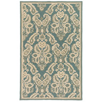 Surya SKE4008-576 Skye 90 X 60 inch Blue and Gray Outdoor Area Rug, Polypropylene