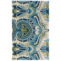 Surya SKE4010-23 Skye 36 X 24 inch Blue and Green Outdoor Area Rug, Polypropylene