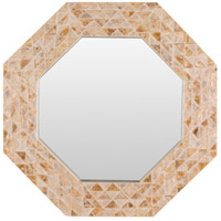 Solomon Tan Wall Mirror Home Decor