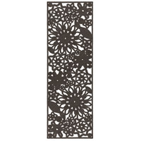 Surya SNB4016-268 Sanibel 96 X 30 inch Black Outdoor Runner, Polypropylene, Polyester, and Viscose