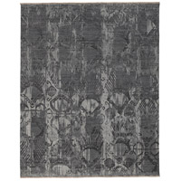 Soma 108 X 72 inch Gray and Gray Area Rug, Wool and Silk