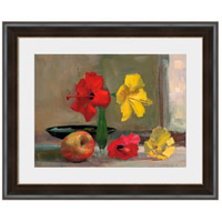 Yellow Hibiscus with Apple Wall Art, Rectangle, Eternal