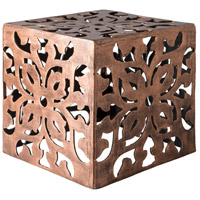 Surya SWRT100-151515 Stewart 15 X 15 inch Metallic Copper Accent Table